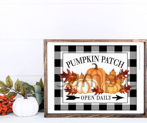 Pumpkin Patch Fall Printable - Southern Crush