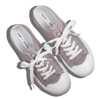 Phoebe James Shoes Sneakers - Lilac Gray