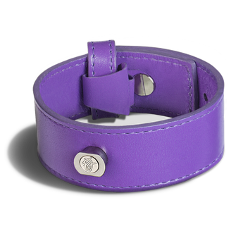 Phoebe James Accessories Wristband - Grape