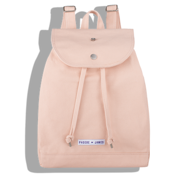 Phoebe James Accessories Backpack - Cotton Candy Pink