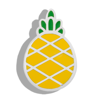 Phoebe James Statement Pineapple - Silver