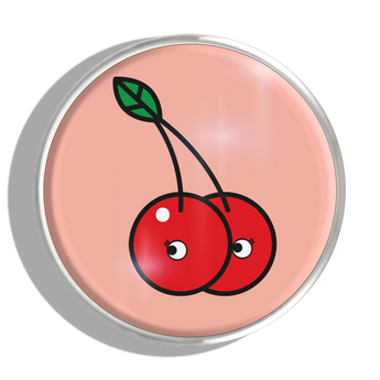 Phoebe James Statement Cherries - Silver