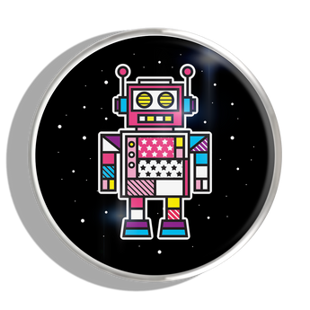 Phoebe James Statement Robot - Silver