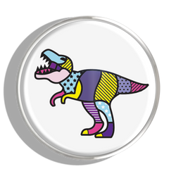Phoebe James Statement T-Rex - Silver