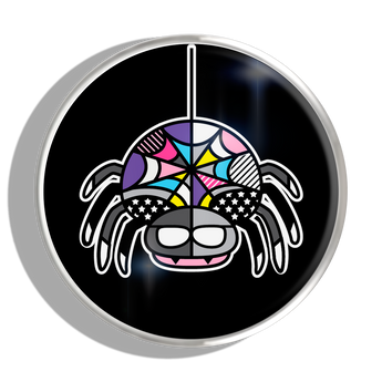 Phoebe James Statement Spider - Silver