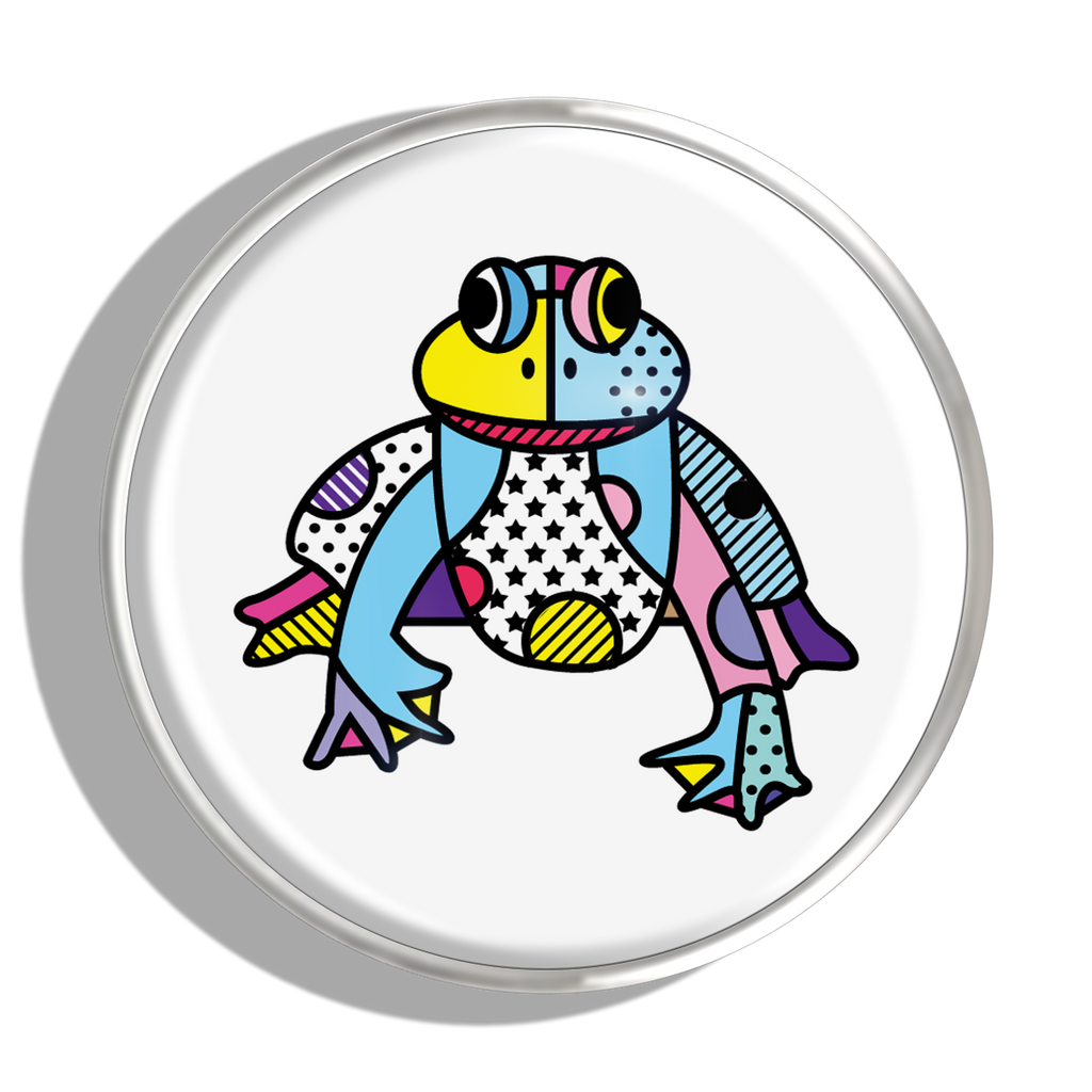 Phoebe James Statement Frog - Silver