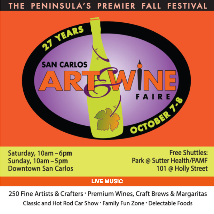 2017 San Carlos Art & Wine Faire
