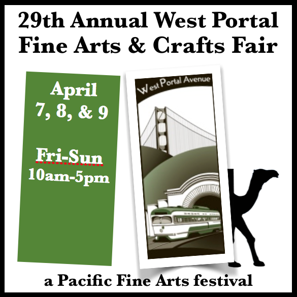 West Portal Sidewalk Fine Arts & Crafts Fair in San Francisco