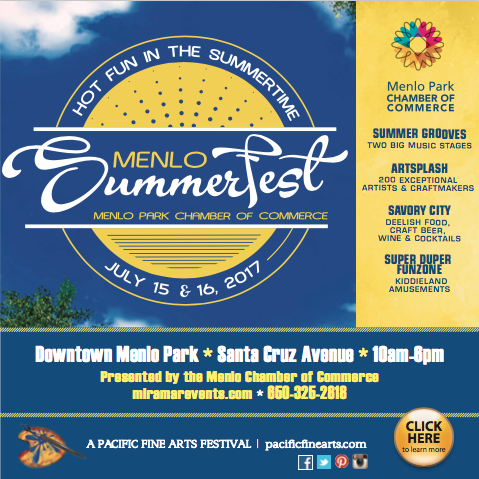 Menlo Park Summerfest 2017 flyer