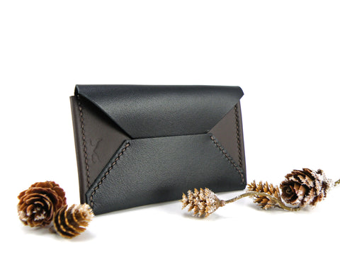 ENVELOPE CARD CASE Slim Card Wallet - KAMEL