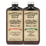 LEATHER CARE SET: CLEAN & CONDITION Leather Care - KAMEL
