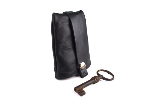 Handmade Leather Key Bell Leather Accessory - KAMEL