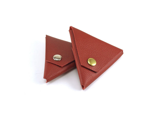 The SAMOSA - a leather coin & accessories pouch