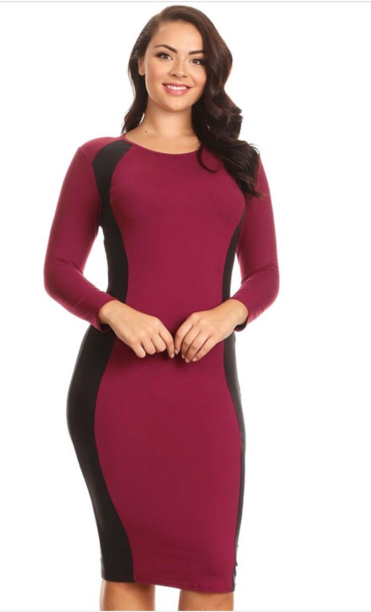 Curves for Days Dress