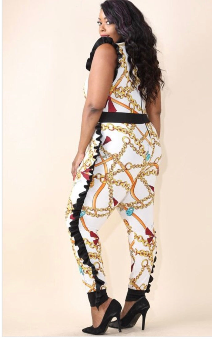 Chains of Love Jumpsuit