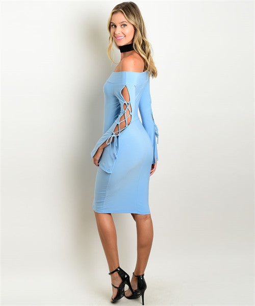 Show Your Baby Blue Dress