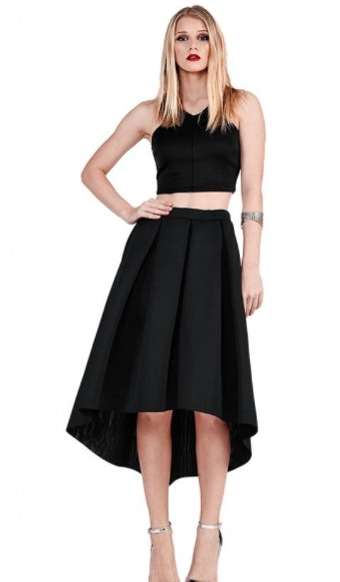 Hi/Low Scuba Skirt