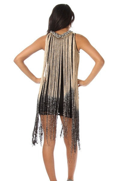 Shaking My Shimmy - Fringe Dress