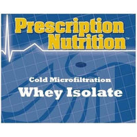 Whey Isolate - Cold-Microfiltration RAW Series 1lbs