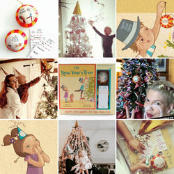 Oh! New Year's Tree:  Storybook, Wish Holder Ornament and Tree-Decorating Party Kit