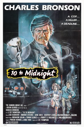 10 to Midnight Poster//10 to Midnight Movie Poster//Movie Poster//Poster Reprint