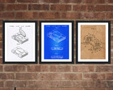Sony Playstation Patent Print Set - Patent Print - Patent Art - Patent Print - Patent Poster - Office Art - Office Supplies