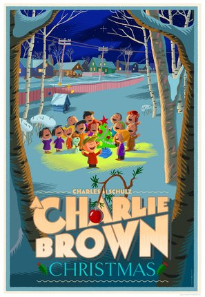A Charlie Brown Christmas Poster//A Charlie Brown Christmas Movie Poster//Movie Poster//Poster Reprint