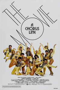 A Chorus Line Poster//A Chorus Line Movie Poster//Movie Poster//Poster Reprint