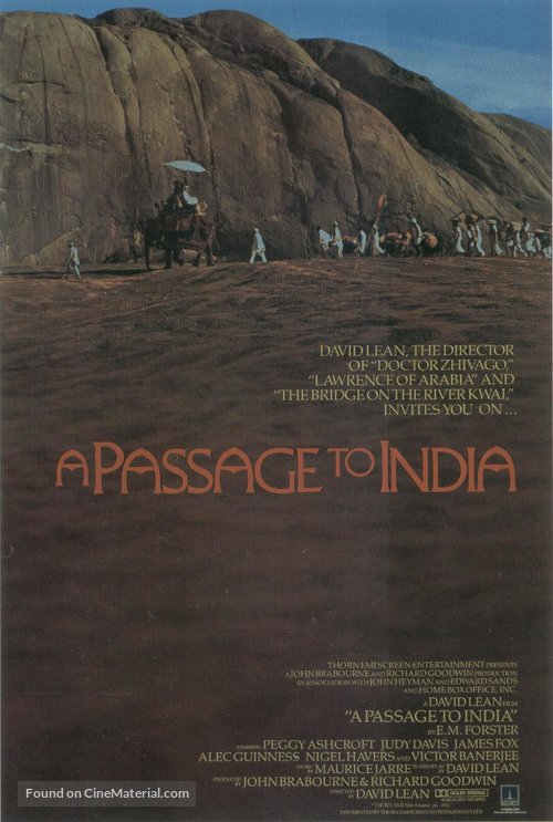A Passage to India Poster//A Passage to India Movie Poster//Movie Poster//Poster Reprint