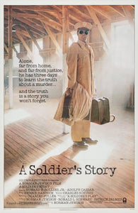 A Soldier's Story Poster//A Soldier's Story Movie Poster//Movie Poster//Poster Reprint