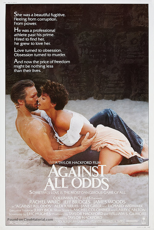 Against All Odds Poster//Against All Odds Movie Poster//Movie Poster//Poster Reprint