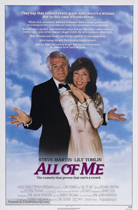 All of Me Poster//All of Me Movie Poster//Movie Poster//Poster Reprint