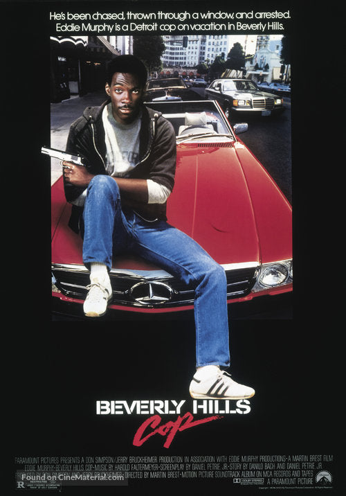 Beverly Hills Cop Poster//Beverly Hills Cop Movie Poster//Movie Poster//Poster Reprint