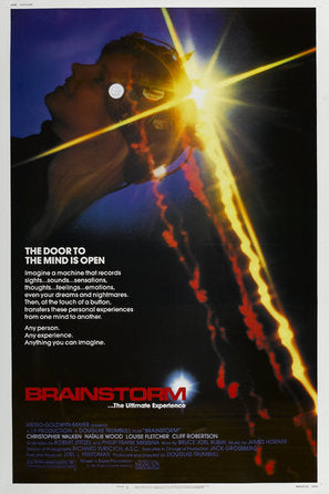 Brainstorm Poster//Brainstorm Movie Poster//Movie Poster//Poster Reprint