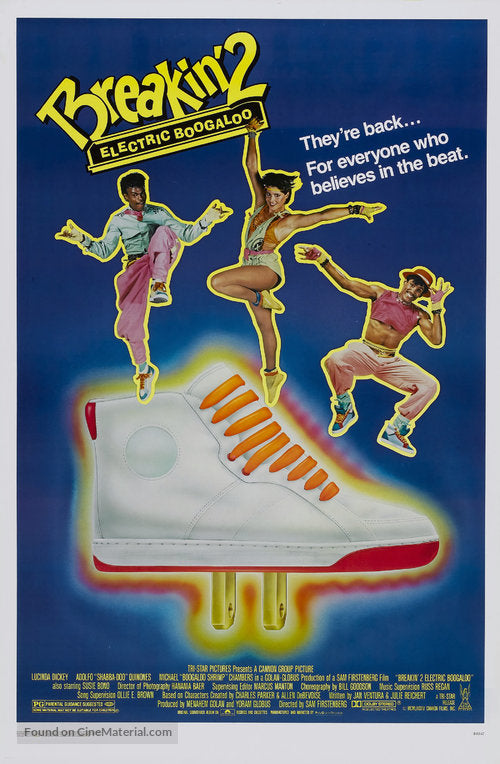 Breakin' 2: Electric Boogaloo Poster//Breakin' 2: Electric Boogaloo Movie Poster//Movie Poster//Poster Reprint