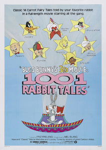 Bugs Bunny's 3rd Movie: 1001 Rabbit Tales Poster//Bugs Bunny's 3rd Movie: 1001 Rabbit Tales Movie Poster//Movie Poster//Poster Reprint
