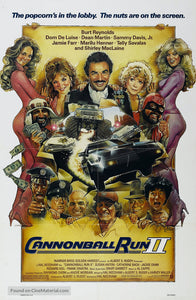 Cannonball Run 2 Poster//Cannonball Run 2 Movie Poster//Movie Poster//Poster Reprint