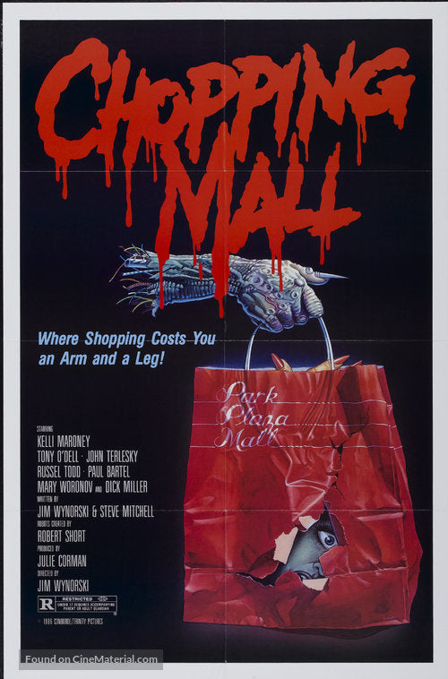 Chopping Mall Poster//Chopping Mall Movie Poster//Movie Poster//Poster Reprint