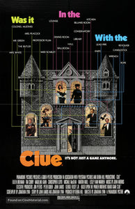 Clue Poster//Clue Movie Poster//Movie Poster//Poster Reprint