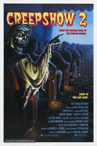 Creepshow 2 Poster//Creepshow 2 Movie Poster//Movie Poster//Poster Reprint