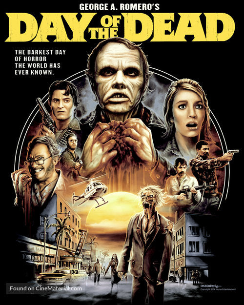 Day Of The Dead Poster Day Of The Dead Movie Poster Movie Poster Po The Vintage Printing Co