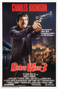 Death Wish 3 Poster//Death Wish 3 Movie Poster//Movie Poster//Poster Reprint