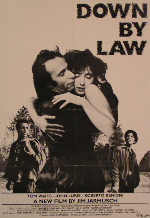Down by Law Poster//Down by Law  Movie Poster//Movie Poster//Poster Reprint
