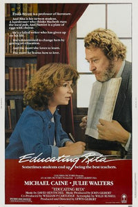 Educating Rita Poster//Educating Rita Movie Poster//Movie Poster//Poster Reprint