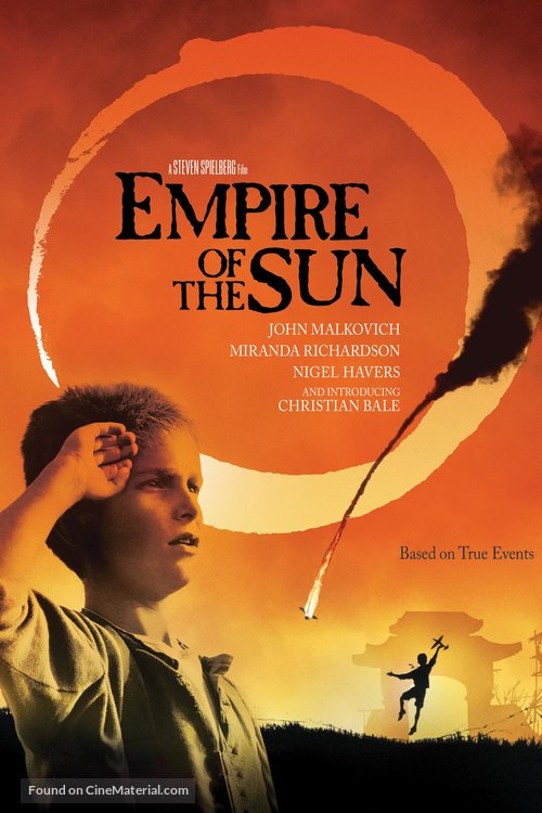 Empire Of The Sun Poster//Empire Of The Sun Movie Poster//Movie Poster//Poster Reprint
