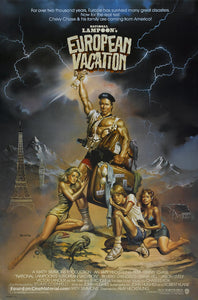 European Vacation Poster//European Vacation Movie Poster//Movie Poster//Poster Reprint