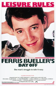 Ferris Bueller's Day Off Poster//Ferris Bueller's Day Off  Movie Poster//Movie Poster//Poster Reprint