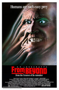 From Beyond Poster//From Beyond Movie Poster//Movie Poster//Poster Reprint