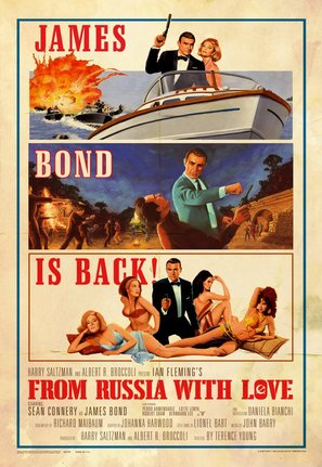 From Russia with Love Poster//From Russia with Love Movie Poster//Movie Poster//Poster Reprint