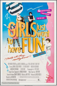 Girls Just Want to Have Fun Poster//Girls Just Want to Have Fun Movie Poster//Movie Poster//Poster Reprint